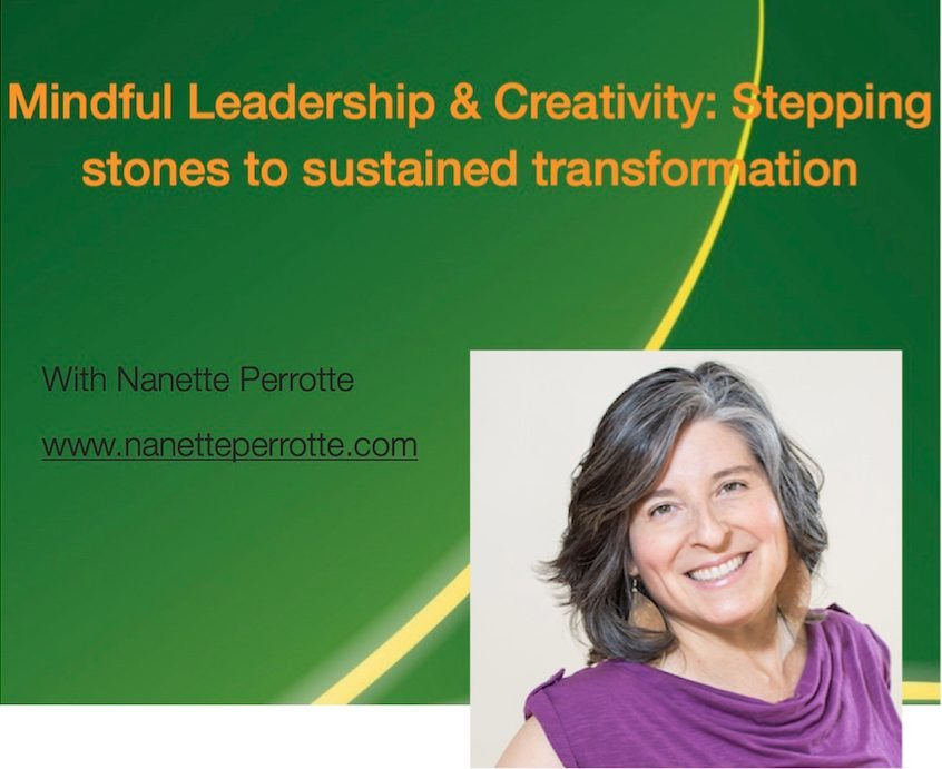 Mindful Leadership & Creativity Workshop